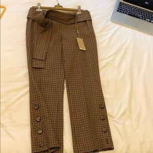 Michael Kors collection cropped wool pants